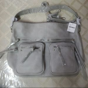 Brand New Free People Grey Faux Leather To…